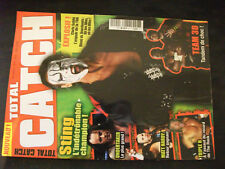 ** Total Catch n°2 Poster HBK Shawn Michaels et Fit Finley vs Rey Mysterio