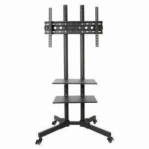 Mobile TV Stand 32/40/43/49/50/55/65/70 Cart Trolley Universal Bracket on Wheels