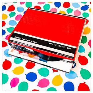 Mangiadischi 45 Giri Vintage PACKSON 80 The Soundmaster Italy Anni '70