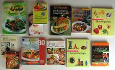 12 Bücher Paket ✿ essen, genießen, kochen, abnehmen, Gesundheit ✿ neu ungelesen!