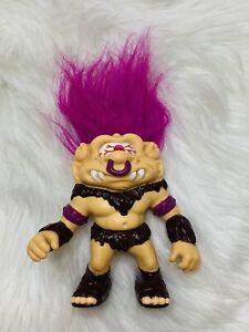 VTG Optic Ogre Cyclops Battle Troll 90s Figure 1992 Hasbro Purple Hair