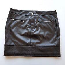 VICTORIA'S SECRET Women's Black Mini Pencil A-Line Skirt Casual Work Cocktail