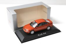 1:43 Minichamps Audi A4 (B5) Sedan red DEALER SP NEW bei PREMIUM-MODELCARS