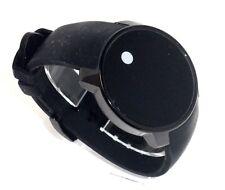 MOVADO $595 MEN'S BLACK DIGITAL TOUCH SCREEN TWO TIME ZONE SWISS WATCH 3600144