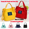 Women Young Girl Small Canvas Handbag Shoulder Messenger Bag Satchel Tote Purse