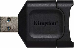 Kingston MobileLite Plus USB 3.2 SDHC SDXC UHS-II Card Reader  Best Card Reader