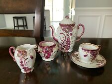 Beautiful German Lustre Child's Tea Set antique