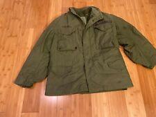 m-65 field jacket medium og107 1995 dated With liner