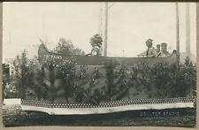 LEWISTOWN, MT VINTAGE PHOTO POSTCARD Hopkins Parade Float by Coulter Studio