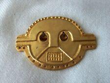 24Kt Gold Plated Incan Man Pin Brooch Mma 1994 The Metropolitan Museum Of Art