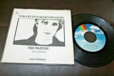 """Tom Petty And The Heartbreakers The Waiting 1981 Mexico 7"""" Promo 45 Pop Rock"""