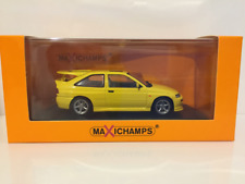 Maxichamps 940082101 Ford Escort RS Cosworth 1992 Yellow 1:43 Scale
