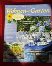 Wohnen & Garten - Magazin (neu und ungelesen) inkl. Rezepte