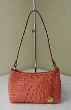 Brahmin Bitter Sweet Red Orange Melbourne Anytime Mini Shoulder Bag