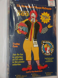 1996 The Adventures Of Ronald McDonald Trading Card box Factory Sealed  36 Packs