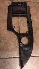 04-07 BMW E60 525i 530i 545i 550i Front Center Console Wood Trim OEM See Desc*