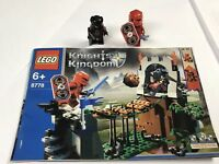 Lego Knights Kingdom 8778 Instructions Manual And Minifigures Castle Minifigs