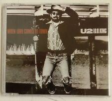 U2 When Love Comes to Town Cd-Single Alemania 1989