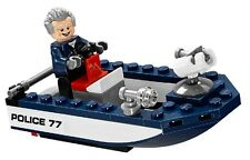 LEGO MARVEL SUPER HEROES CAPTAIN STACY & POLICE SPEEDBOAT - SPLIT FROM SET 76059