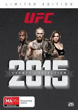 UFC - 2015 Events Collection (DVD, 2016, 26-Disc Set) NEW SEALED