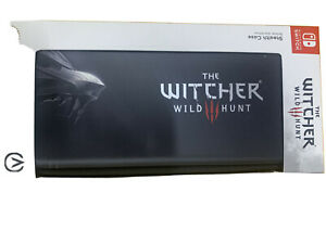 Brand New Limited Edition The Witcher Wild Hunt Switch Case Black