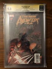 NEW AVENGERS #16 SS CGC 9.8 Signed By Brian Bendis And Steve Mcniven.