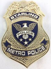 ARROW - Starling City Metro Police TV Series Badge Prop Replica (Stephen Amell)