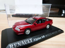 "Alpine miniature 1/43 - V6 Turbo Mille Miles 1990 - Norev ""Renault collection"""