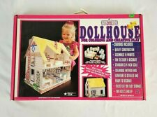 VTG Kits For Kids Dollhouse For Coloring And Creative Play New 1993 Made In USA