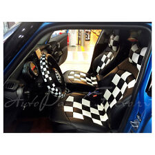New PU leather Check Seat Cover set for MINI Cooper F55 F56 5-door Hatch