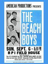 "The Beach Boys RPI 16"" x 12"" Photo Repro Concert Poster"