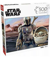 """STAR WARS The Mandalorian """"This is the Way"""" Baby Yoda 500 Puzzle Fast shipping"""