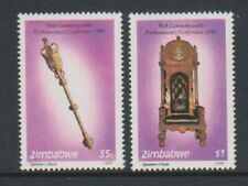 Zimbabwe - 1990, Commonwealth Parliamentary Conference set - MNH - SG 798/9