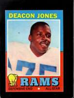 1971 TOPPS #209 DEACON JONES EXMT LA RAMS HOF  *XR22689