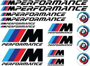 BMW Power M performance Sticker Label Vinyl Decal Motor Sport PVC