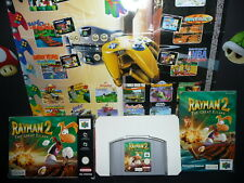 Rayman 2 - The Great Escape (Nintendo 64, 1999) in OVP + Spieleanleitung, RETRO!