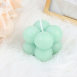 1Pc Small Bubble Cube Candle Soy Wax Aromatherapy Scented Candles Home DecorHCA