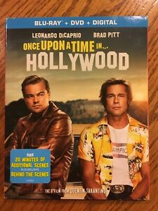 Once Upon A Time In Hollywood CD Blu-Ray + DVD + Digital