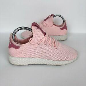 Adidas Pharell Williams Tennis Hu Icey Pink Sneaker Shoe Womens Size 5.5 Walk