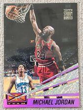 MICHAEL JORDAN 1993 Topps Stadium Club BEAM TEAM Basketball INSERT Card #4 RARE!
