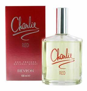 Revlon Charlie Red Eau Fraiche 100ml Eau de Toilette Spray for Women - New