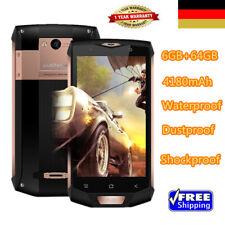 "Wasserdicht Handy 5""Blackview BV8000 Pro 4G 8Core Smartphone 6+64GB 2SIM/Cam NFC"