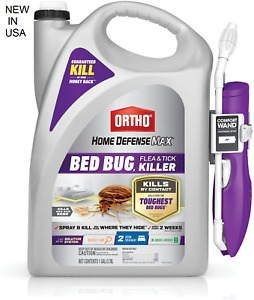 Ortho Home Defense Max Bed Bug Flea And Tick Killer With Ready Comfort Wand USA