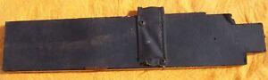 JENSEN INTERCEPTOR J Body  2 Leather Covered Wood Floor parts Interceptor Jensen