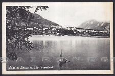 TRENTO LEVICO TERME 41 LAGO Cartolina viaggiata 1954