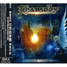 Luca Turilli's Rhapsody: Ascending to Infinity (2012) CD OBI TAIWAN