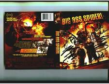 Big Ass Spider Blu Ray signed by Greg Grunberg Clare Kramer  + 7 other cast/crew