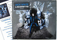 JACK WHITE CD Lazaretto 11 Track NEW 2014 Album WHITE STRIPES + Promo Sheet