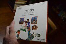"~ HAYDN SONATAS FOR PIANO VOLUME III - 3 3/4 IPS 4 Track 7"" REEL-TO-REEL RARE"