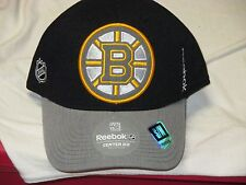 "BOSTON BRUINS ""REEBOK"" FLEX FIT HAT (SM/MED) NWT$25 ""CENTER ICE COLLECTION"""